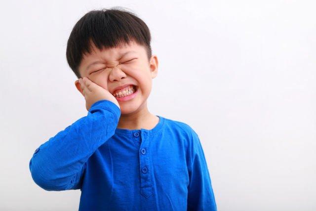 mal di denti nei bambini