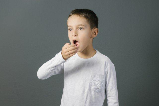 Cattivo alito nei bambini